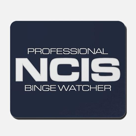 Professional NCIS Binge Watcher Mousepad