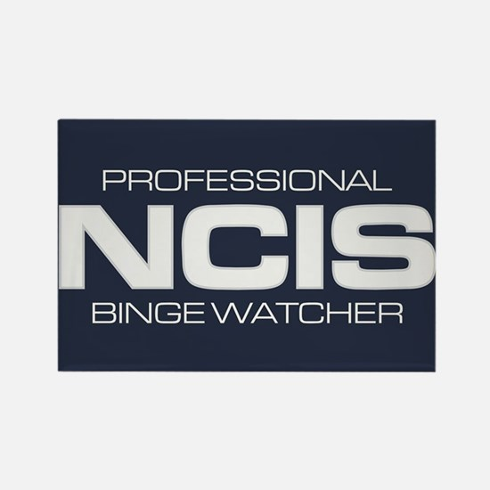 Professional NCIS Binge Watcher Rectangle Magnet