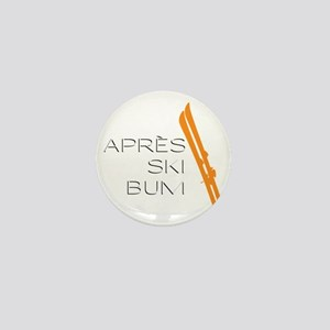 Après Ski Bum Mini Button