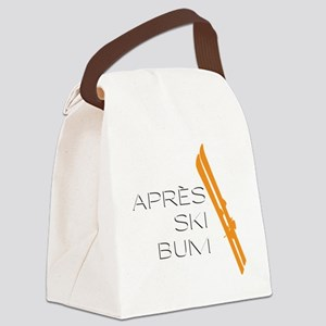 Après Ski Bum Canvas Lunch Bag