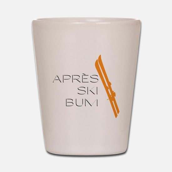 Après Ski Bum Shot Glass