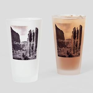 canyondchsq2 Drinking Glass