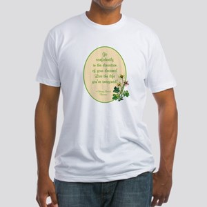 Henry David Thoreau Fitted T-Shirt