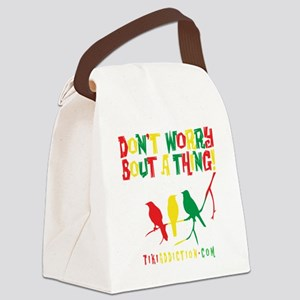 DONT WORRY - ALL Canvas Lunch Bag