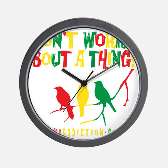 DONT WORRY - ALL Wall Clock