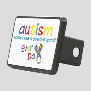 Autism Rectangular Hitch Cover