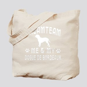 Dogue De Bordeaux Dog Designs Tote Bag