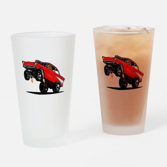57 Gasser Wheelie Drinking Glass