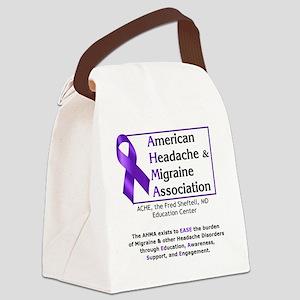 AHMALogo10x10 Canvas Lunch Bag
