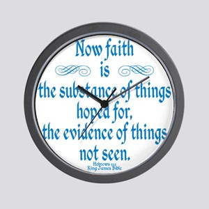 Hebrews 11 1 Wall Clock