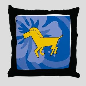 Horse Queen Duvet Throw Pillow