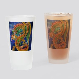 Golden Dragon 16x20 Drinking Glass