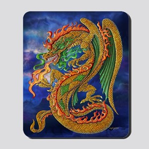 Golden Dragon 16x20 Mousepad