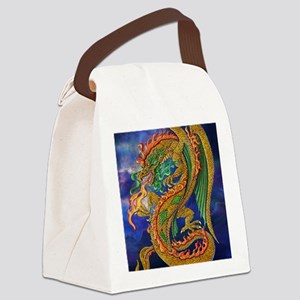 Golden Dragon 16x20 Canvas Lunch Bag