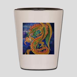 Golden Dragon 16x20 Shot Glass