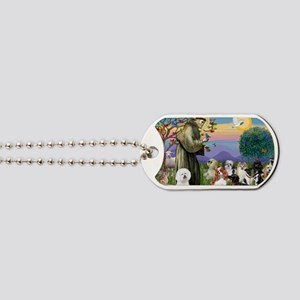 Saint Francis  10 dogs Dog Tags