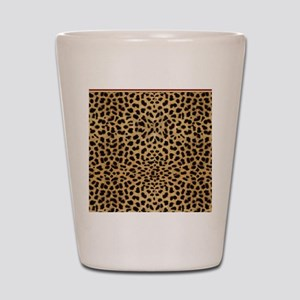 Cheetah Animal Print copy Shot Glass