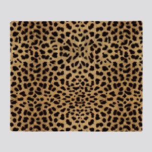 Cheetah Animal Print copy Throw Blanket