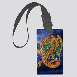 Golden Dragon 11x17 Large Luggage Tag