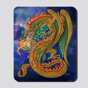 Golden Dragon 11x17 Mousepad