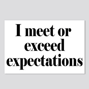 expectationsrectangle Postcards (Package of 8)