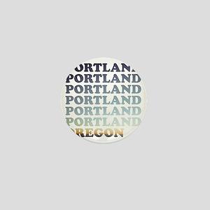 portland, oregon Mini Button