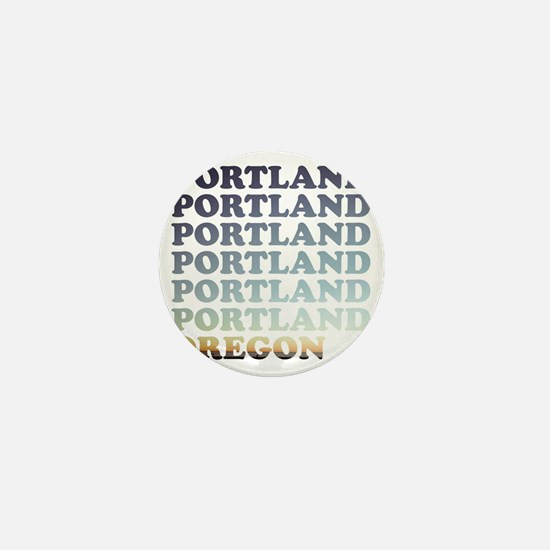 portland, oregon Mini Button