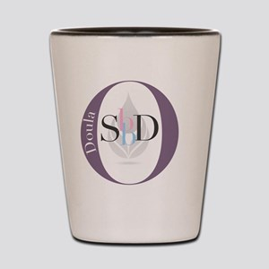 official stillbirthday doula logo Shot Glass