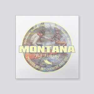 Montana Fly Fishing Sticker