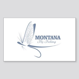 Montana Fly Fishing Sticker