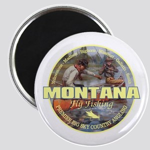 Montana Fly Fishing Magnets