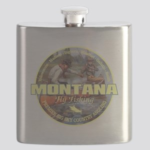 Montana Fly Fishing Flask
