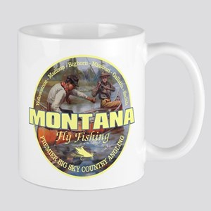 Montana Fly Fishing Mugs
