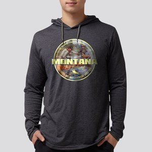 Montana Fly Fishing Long Sleeve T-Shirt