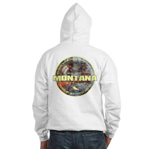 Montana Fly Fishing Sweatshirt