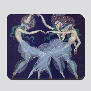 Art Nouveau Ballerinas Mousepad