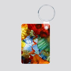 Glass Ceiling 3 Aluminum Photo Keychain