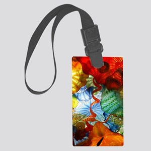 Glass Ceiling 3 Large Luggage Tag