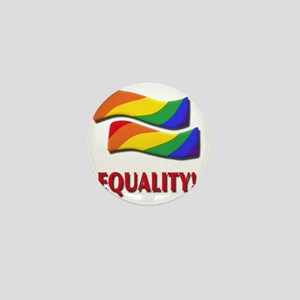 Equality, gay marriage Mini Button