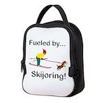 Fueled by Skijoring Neoprene Lunch Bag