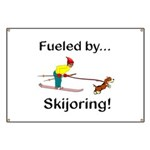 Fueled by Skijoring Banner