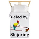 Fueled by Skijoring Twin Duvet