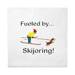 Fueled by Skijoring Queen Duvet