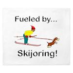Fueled by Skijoring King Duvet