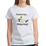 Fueled by Skijoring Women's T-Shirt
