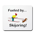 Fueled by Skijoring Mousepad