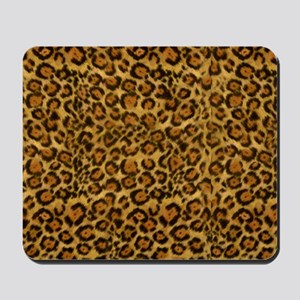 Graphic Jaguar Animal Print Mousepad