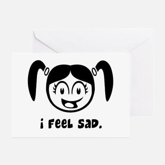I feel sad Greeting Cards (Pk of 10)