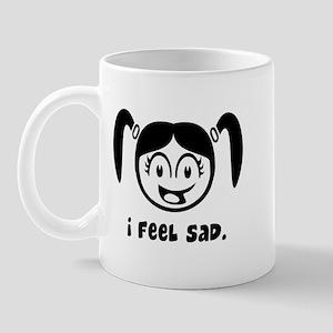 I feel sad Mug