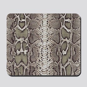 Snakeskin Animal Print Mousepad